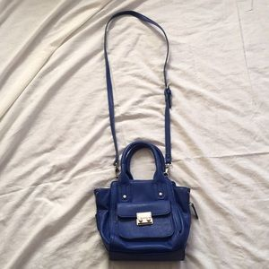 Dark blue forever 21 purse